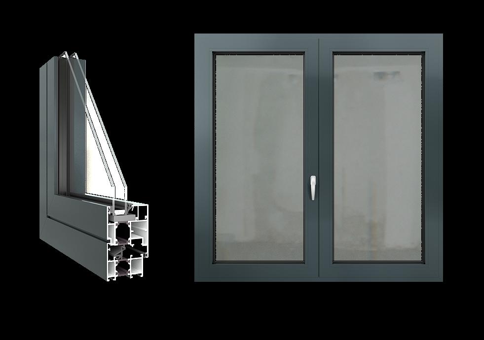 Aluprof Mb 60 Sistemi Alluminio Tutto Finestre